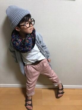 ☆Ki_So☆さんの(BIRKENSTOCK|ビルケンシュトック)を使ったコーディネート