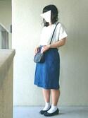 なな is wearing FOREVER 21