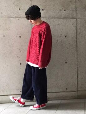 Kyo Takedaさんの(CA4LA|カシラ)を使ったコーディネート