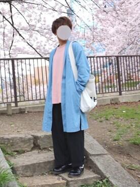 tsubasaさんの(MARGARET HOWELL|マーガレットハウエル)を使ったコーディネート