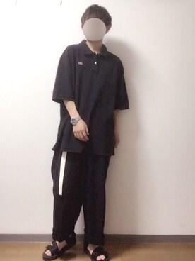 tsubasaさんの(LACOSTE|ラコステ)を使ったコーディネート