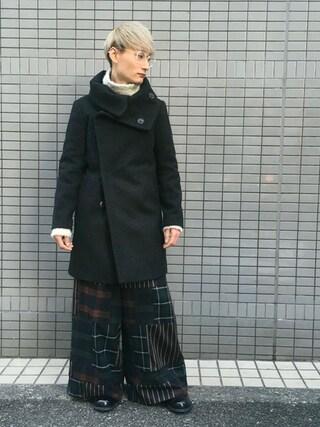 MIDWEST TOKYO MEN Kei Samejimaさんの(The Viridi-anne ザヴィリディアン)を使ったコーディネート
