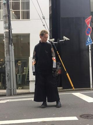 MIDWEST TOKYO MEN Kei Samejimaさんの(doublet ダブレット)を使ったコーディネート