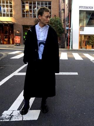 MIDWEST TOKYO MEN Kei Samejimaさんの(RAF SIMONS ラフシモンズ)を使ったコーディネート