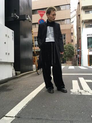 MIDWEST TOKYO MEN Kei Samejimaさんの(JOHN LAWRENCE SULLIVAN ジョン ローレンス サリバン)を使ったコーディネート