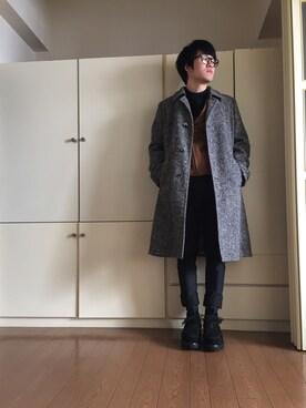 zumaさんの(MIHARAYASUHIRO|ミハラヤスヒロ)を使ったコーディネート