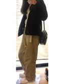 ふゆさんの「WOMEN カシミヤタートルネックセーター(長袖)(ユニクロ|ユニクロ)」を使ったコーディネート