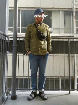 yonemicci70さんの(URBAN RESEARCH DOORS MENS|アーバンリサーチ ドアーズ メンズ)を使ったコーディネート