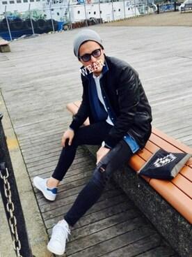 Kinch@nさんの「adidas アディダス STAN SMITH スニーカー(SEVENDAYS=SUNDAY|ザラ)」を使ったコーディネート
