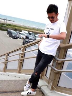 Kinch@nさんの(adidas|アディダス)を使ったコーディネート