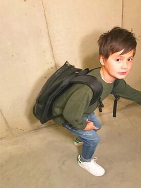 tokyonhさんのニット/セーター「ハイネックリブセーター (XS〜L)(BIG FIELD|ビッグフィールド)」を使ったコーディネート