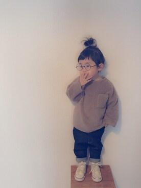 YuAさんの「CONVERSE / CHILD ALL STAR N Z HI(CONVERSE|コンバース)」を使ったコーディネート