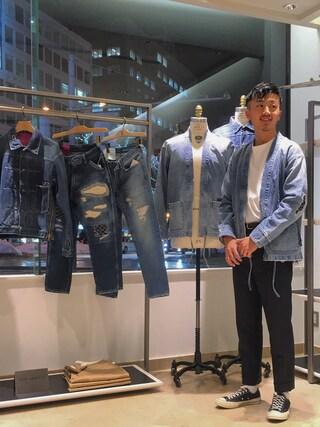 ユナイテッドアローズ 札幌店|Satoru Tsushimaさんの(UNITED ARROWS & SONS|ユナイテッドアローズ アンド サンズ)を使ったコーディネート