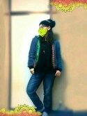 「Levi's® 501 'Super Cuff' Boyfriend Jeans (Port Side)(Levi's)」 using this トミーサク looks