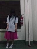 小野さんの「converse(コンバース) ALL STAR OX(オールスターOX)(CONVERSE|コンバース)」を使ったコーディネート