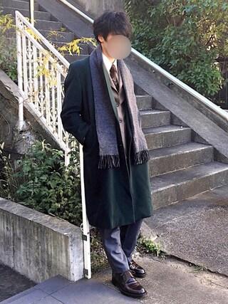 [Hirotaka]さんの「BY スーピマ オックスフォード ボタンダウンシャツ(BEAUTY&YOUTH UNITED ARROWS|ビューティアンドユースユナイテッドアローズ)」を使ったコーディネート
