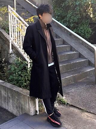 [Hirotaka]さんの「表面感のあるポケットT(COMME CA ISM|コムサイズム)」を使ったコーディネート