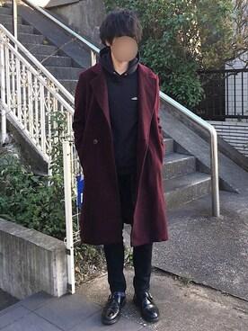 [Hirotaka]さんの「UCR4804(UNDERCOVER|アンダーカバー)」を使ったコーディネート