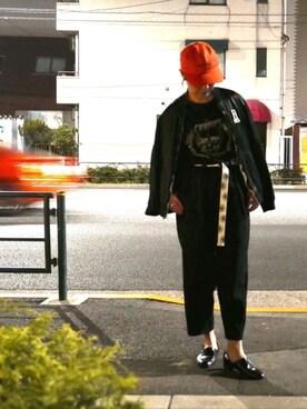 HYSTERIC GLAMOUR伊勢丹新宿店|りょうさんの(e.m.|イーエム)を使ったコーディネート