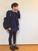 ごんごんさんの「シャークソールレザーモカシン(UNITED TOKYO|ユナイテッドトウキョウ)」を使ったコーディネート