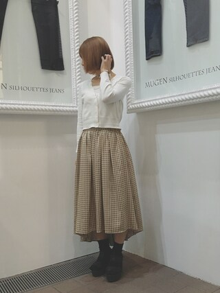 RA.SHIN.K TOKYO|RA.SHIN.Kさんの(ROSE BUD|ローズバッド)を使ったコーディネート