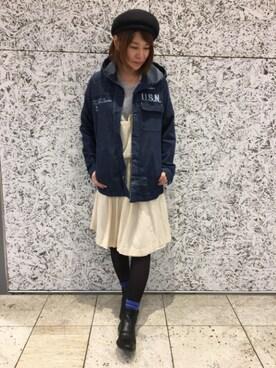 AVIREX ジョイナス横浜|Takematsuさんの(AVIREX|アヴィレックス)を使ったコーディネート