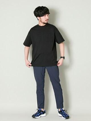 アーバンリサーチ西梅田 ブリーゼブリーゼ店 moriyamaさんの「UR Comfort Loose Tshirt(URBAN RESEARCH アーバンリサーチ)」を使ったコーディネート