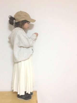 aya*tomoさんの「カラーベーシックキャップ(studio CLIP|スタディオクリップ)」を使ったコーディネート