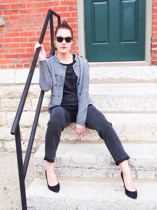 「Women's Sam Edelman Hazel Pointy Toe Pump(Sam Edelman)」 using this Vanessa looks