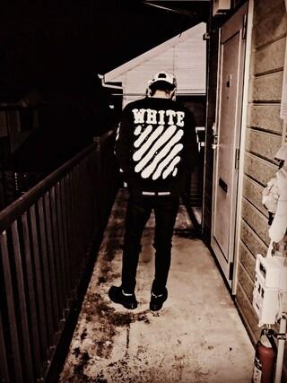 MiNATOさんの(off white|オフホワイト)を使ったコーディネート