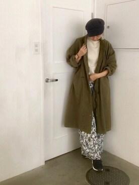 enchanted 本社|Rieko  Haraさんの(バナナケーキを狙う面々)を使ったコーディネート