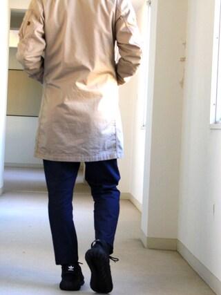 マリモさんの「オリジナルス チュブラー ドゥーム [TUBULAR DOOM](adidas originals|アディダスオリジナルス)」を使ったコーディネート