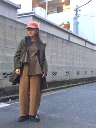 Miiiiiさんの「【雑誌掲載】 アシンメトリーフリルデザイントップス(Settimissimo|セッティミッシモ)」を使ったコーディネート