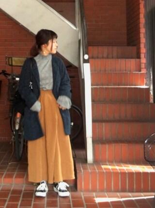 Miiiiiさんの「<CONVERSE(コンバース)>ONE STAR MADE IN JAPAN レザースニーカー(CONVERSE|コンバース)」を使ったコーディネート