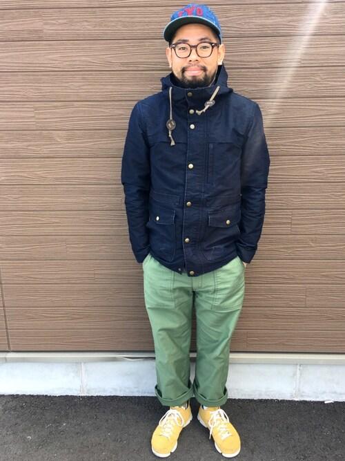 23度 服装 メンズコーデ マウンテンパーカー・シェルアウタ 画像2