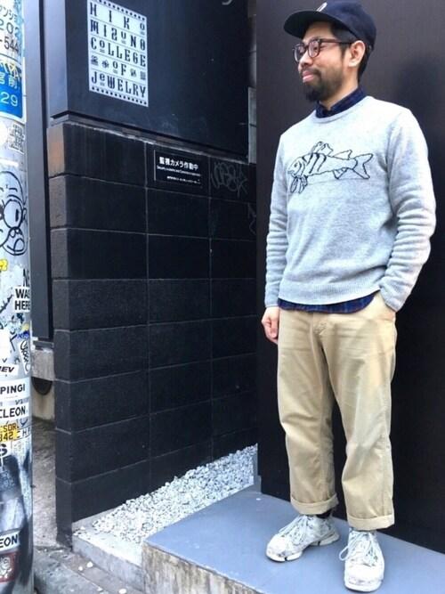 23度 服装 メンズコーデ ニット・カットソー・スウェットウェア 画像1