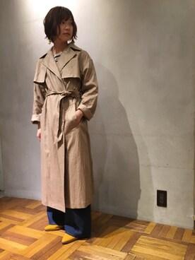 ADAM ET ROPE' ラゾーナ川崎 kanae  doiさんの(Traditional Weatherwear トラディショナルウェザーウェア)を使ったコーディネート