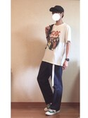 takuyaさんの「converse  コンバース ALL STAR 100 COLORS  HI オールスター 100 カラーズ ハイ 32960894 *GREEN(CONVERSE|コンバース)」を使ったコーディネート
