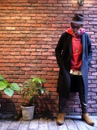 「The Letters : Classic Antelope 7.5 Brim Hat(THE COMESANDGOES)」 using this BIRTH DAY|BIRTHDAY looks