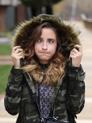 「ASOS Parka with Animal Faux Fur Liner(Asos)」 using this kaitelizabeth looks