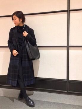 CAMPER 藤井大丸店|ハルヒさんのコーディネート