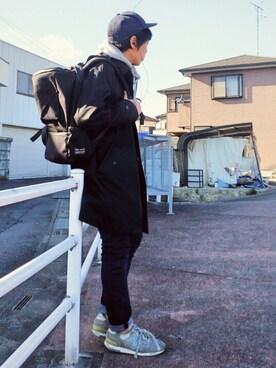 ikka LOUNGE|魔女っ子ペニ子さんのバックパック/リュック「DE ROSA デローザヘルメットバックパック(ikka|イッカ)」を使ったコーディネート
