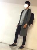 Naokiさんの「2Way BigWatch(UR SELECT|ユーアールセレクト)」を使ったコーディネート