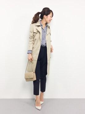 ZOZOTOWN|RINAさんの(PLAIN CLOTHING|プレーンクロージング)を使ったコーディネート