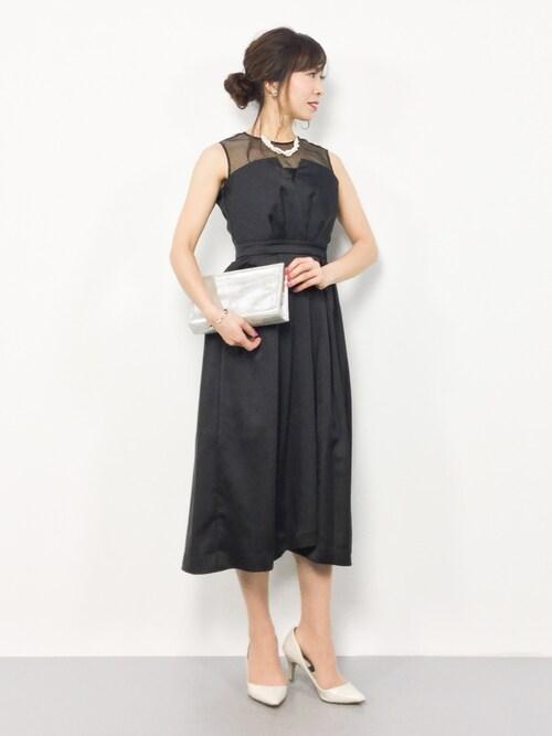 da038cb83b41c RINA(ZOZOTOWN)|laboratory workのドレスを使ったコーディネート - WEAR