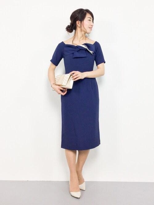 12d9b47fd778e RINA(ZOZOTOWN)|DRESS LABのドレスを使ったコーディネート - WEAR