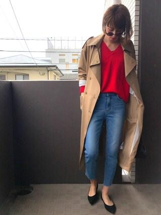 maichinさんの「巾着ショルダーバッグ【PLAIN CLOTHING】(PLAIN CLOTHING|プレーンクロージング)」を使ったコーディネート