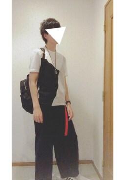 じょー。さんの「【2017新色登場】ナイロンZIPバックパック/リュック【PLAIN CLOTHING】(PLAIN CLOTHING|プレーンクロージング)」を使ったコーディネート
