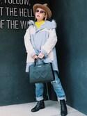 「Moschino Love Moschino Shoulder Bag(Love Moschino)」 using this 瀬戸あゆみ looks