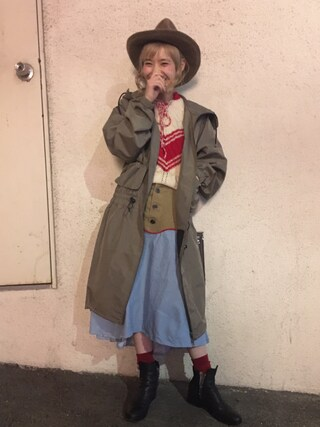 「HILL VALLEY ウエスタンスカート(Aymmy in the batty girls)」 using this 瀬戸あゆみ looks
